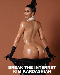 Kim Kardashian Bares Her Butt, Goes Completely Naked for Paper Magazine