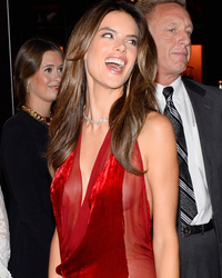 Alessandra Ambrosio Goes Without Underwear at Victoria's Secret Fantasy Bra Event