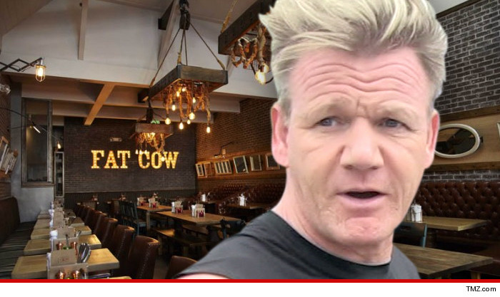 If Gordon Ramsay is going down, his exbusiness partner's going with