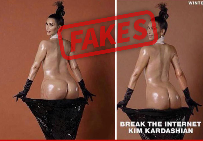 Kim Kardashian Unedited Ass