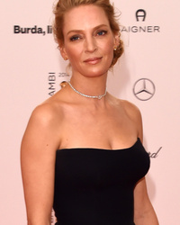 Uma Thurman, 44, Steals the Spotlight In Sexy LBD!