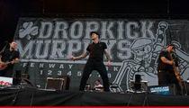 Dropkick Murphys -- Cancel Concert After Tour Bus Kills Pedestrian