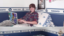 Justin Bieber -- Sniff My Pillow ... For $279K!
