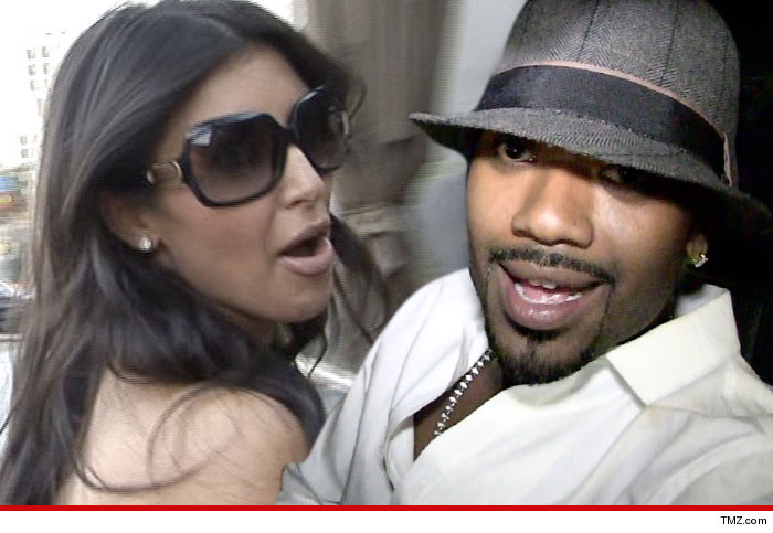 Ray J Kim Kardashian Ass Photo
