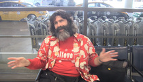 Mick Foley -- Welcomes a New Member to the 'I Just Lost an Ear!' Club