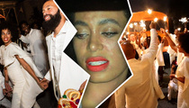 Solange Knowles -- Wedding Day Hives Make for a Bumpy Night