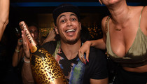 Giancarlo Stanton -- Parties with $20k Champagne ... After Signing $325 Mil Contract!