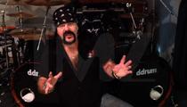 Pantera Drummer Vinnie Paul -- That Baby Rocks!! Here's Something to Bang On