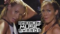 Iggy & J.Lo Scare the Crap Out of ABC's AMAs with Their Booty