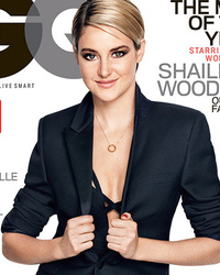 Shailene Woodley Covers GQ, Talks Sex Scenes With Ansel Elgort & Miles Teller!