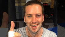 Armie Hammer -- Boxes Ex-NFL Badass ... Gets BLACK EYE