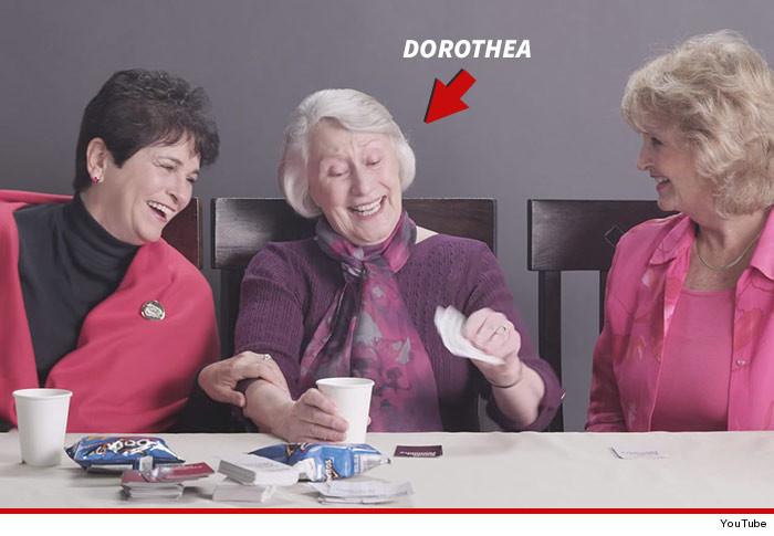 Grandmas Smoking Weed Video