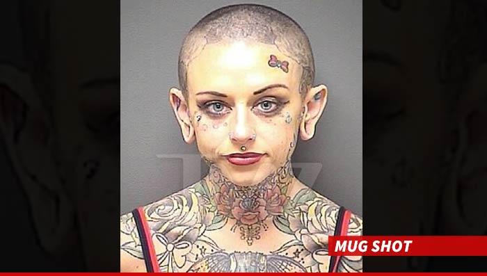 Maddie la Belle Arrested