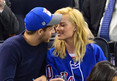 Margot Robbie -- Hot Chick from 'Wolf of Wall St.' ... PDA at NY Rangers Game