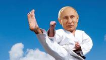 Vladimir Putin -- Gets 8th Degree Black Belt ... Just For Kicks