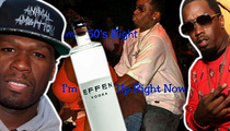 50 Cent vs. Diddy -- The Great Vodka War ... Blink and You Missed It!