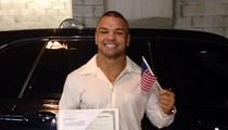 UFC Star Thiago Alves -- I'M AN AMERICAN NOW ... Officially!