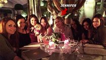 Jennifer Lawrence -- I Got Real Pumped ... To Eat at Reality Star's Restaurant
