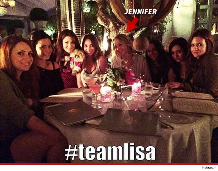 Jennifer Lawrence Lisa Vanderpump Restaurant