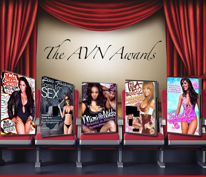 AVN Awards Best Celebrity Sex Tape