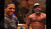 Shannon Briggs -- Hangin' Out With 'The Last Dragon' ... I Got The Glow