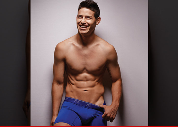 Soccer Star James Rodriguez Declares Underwear War On Cristiano Ronaldo