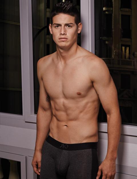 James Rodriguez's Sexy Underwear Photos | Photo 1 | TMZ.com