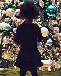 Blue Ivy Is Ready for the Holidays -- See Cute Christmas Pic!