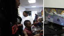 Waka Flocka Flame -- OWNED by Little Kid ... With Mad Mario Kart Skills