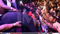 Busta Rhymes -- Bloody Head Gash ... Nose Dives are Dangerous (PHOTOS)