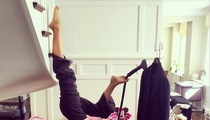 10 New Yoga Poses As Taught By Hilaria Baldwin
