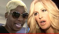 Nene Leakes & Kim Zolciak -- Grill Each Other Like Cheeseburgers On Live TV