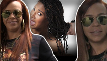 Faith Evans -- Hair Extension Problems? Just Ratchet!!
