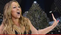 Mariah Carey -- Divorce Talk Derails NBC Tree Lighting Performance