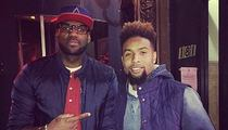 Odell Beckham Jr. -- I GOT TO MEET MY HERO ... Takes Pic with LeBron