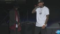 Chris Brown -- I'm Single Now ... 'F***' Karrueche (VIDEO)