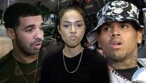 Drake -- Chris Brown is a Liar ... Karrueche's Not Even My Type