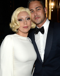 Lady Gaga Makes Rare Red Carpet Appearance With Boyfriend Taylor Kinney