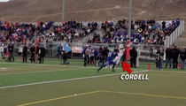 Snoop's Son -- Highlight Reel TD Catches ... In State Championship Game (Video)