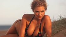 Kate Upton -- Sand in All the Right Places ... Remember These? (VIDEO)