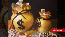 Johnny Manziel -- My Bday Cake ... IS MONEY!!
