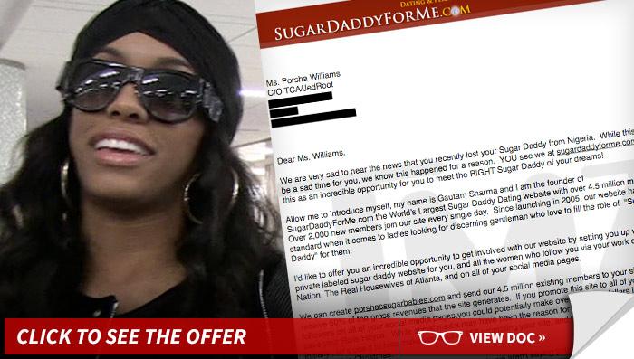 Porsha Williams Sugar Daddy