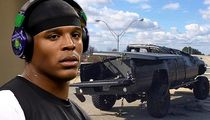Cam Newton -- It's a Miracle I Survived the Crash