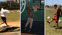 Odell Beckham Jr. -- HUMAN HIGHLIGHT REEL ... I Can Dunk, Dance & Juggle