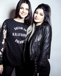 Kylie Jenner Looks Just Like Kim in New Photo Shoot With Kendall!