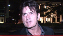 Charlie Sheen -- Nitrous Oxide Made Me Do It!