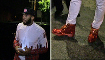 NBA Star Andre Drummond -- Check Out My Bedazzled Timbs!!