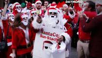 Daymond John -- Undercover Santa Hawks 'Shark Tank' Shades