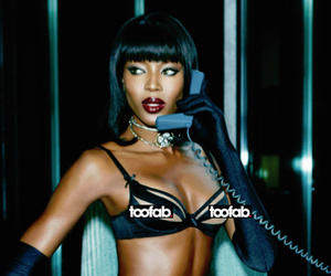 Naomi Campbell, 44, Looks Sexier Than Ever For Agent P