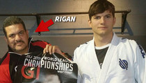 Ashton Kutcher -- Real Deal Jiu-Jitsu Ass Kicker ... Says Legendary Trainer